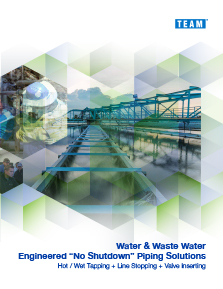 TEAM Water and Wastewater Maintenance Brochure